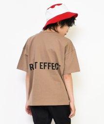RAT EFFECT/バックプリントスーパービッグTシャツ/503378270