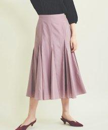 TheVirgnia/アルコット裾フレア切替スカート /503378283