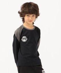 SHIPS KIDS/ATHLETA:【SHIPS KIDS別注】ロゴ プリント TEE(100~130cm)/503379789