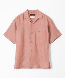 CABaN /リネン オープンカラーシャツ/503380059