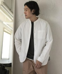 URBAN RESEARCH DOORS/【予約】オックスバンドカラーシャツ/503380346