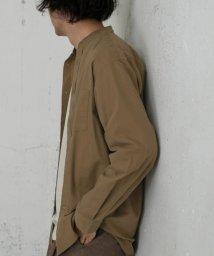 URBAN RESEARCH DOORS/【予約】イージーケアバンドカラーシャツ/503380347