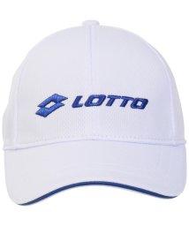 lotto/ロット/キッズ/LOTTOジュニアロゴキャップ/503380495