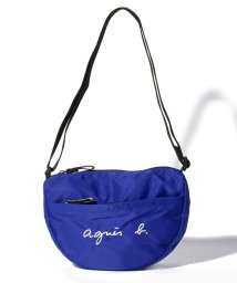 agnes b. ENFANT/GL11 E BAG ロゴポシェット/502974453