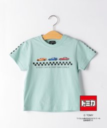 green label relaxing (Kids)/TOMICA BOX T-SHIRT/503356017