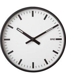 BRID/BLACK WOOD FRAME CLOCK L Φ35cm/503357332