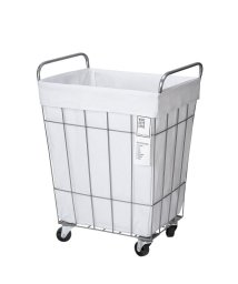 BRID/WIRE ARTS & PRO LAUNDRY SQUARE BASKET with CASTER 45L/503357333