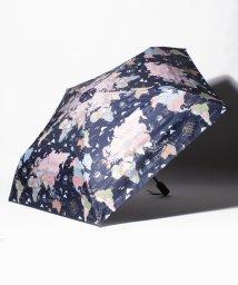 Afternoon Tea LIVING/トラベル柄晴雨兼用自動開閉ジャンプ折りたたみ傘 雨傘/503358247