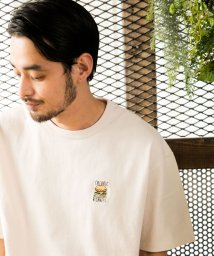 ALWAYS GOOD TIME NEW BASIC STORE/NORMANBROS(ノーマンブロス)BURGER刺繍Tシャツ/503363185