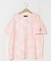 Lovetoxic/タイダイ柄ワンポイント刺しゅうTシャツ/503364505