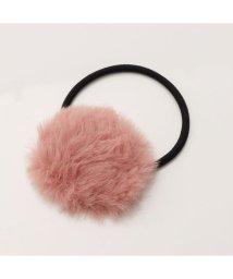minia/ミニア minia オーバルファーヘアゴム (269223) (ピンク)/503374684