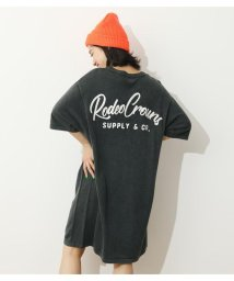 RODEO CROWNS WIDE BOWL/スクリプトロゴニットワンピース/503381206