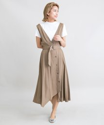 Millon Carats/【STYLE4】イレギュラーヘムジャンパースカート/503381582