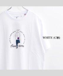 1111clothing/tシャツ メンズ usaコットン tシャツ レディース 半袖tシャツ プリントtシャツ 半袖 トップス カットソー ペアルック カップル 夏 お揃い 服 お揃い/503381836