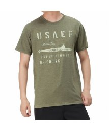 MAC HOUSE(men)/T-GRAPHICS ティーグラフィックス ミリタリー半袖Tシャツ EJ203-MC223/503382113