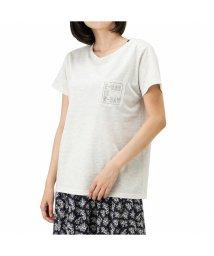 MAC HOUSE(women)/T-GRAPHICS ティーグラフィックス ポケット付きプリントTシャツ EJ203-WC184/503382140
