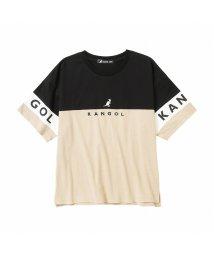 MAC HOUSE(kid's)/KANGOL カンゴール 胸切替Tシャツ 887092/503382158