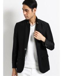 TAKA-Q/スリムフィット2ボタン 衿ベルトデザインジャケット/503382184