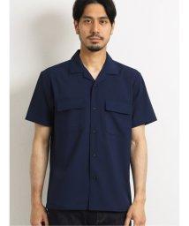 TAKA-Q/接触冷感ストレッチ オープンカラー半袖シャツ/503382278