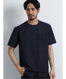 TAKA-Q/サッカープリント クルーネック半袖プルオーバーシャツ/503382282