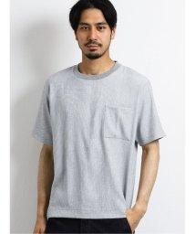TAKA-Q/楊柳クレープ クルーネック半袖プルオーバーシャツ/503382283