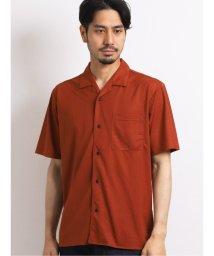 TAKA-Q/接触冷感マイクロ鹿の子 オープンカラー半袖シャツ/503382284