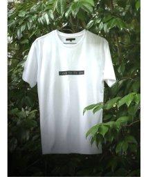 m.f.editorial/ラバープリント クルーネック半袖Tシャツ/503382330