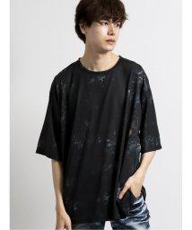 semanticdesign/総柄グラフィック クルーネック半袖BIGTシャツ/503382339