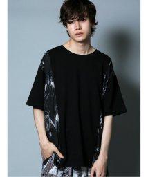 semanticdesign/切替デザイン クルーネック半袖BIGTシャツ/503382351