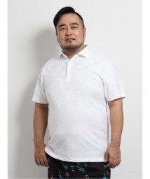 GRAND-BACK/【大きいサイズ】グランバック/GRAND-BACK×Gim リンクスジャガード半袖ポロ/503382373