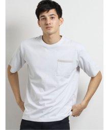 m.f.editorial/ダブルフェイス裏メッシュ クルーネック半袖Tシャツ/503382377