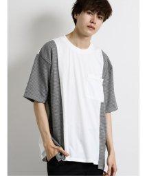 semanticdesign/切替クルーネック半袖BIGTシャツ/503382381