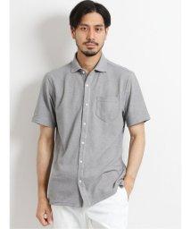 TAKA-Q/MVSリンクスチェック 半袖カットシャツ/503382417