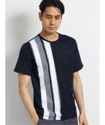 TAKA-Q/接触冷感バイオ天竺前身メッシュ クルーネック半袖Tシャツ/503382434