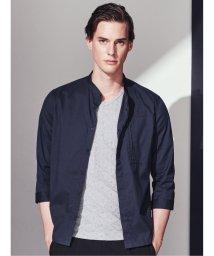 TAKA-Q/吸汗速乾 ブライトブロックジャガードVネック半袖Tシャツ/503382449