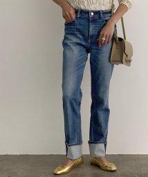 ROPE' mademoiselle/【Healthy DENIM】Citrus Rollup Denim/503382490