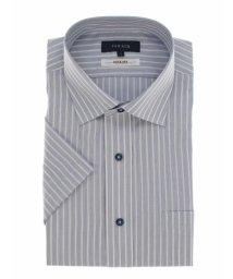TAKA-Q/形態安定抗菌防臭レギュラーフィット ワイドカラー半袖シャツ/503382546