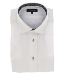 TAKA-Q/クールマックス/COOLMAX 形態安定レギュラーフィット ワイドカラー半袖シャツ/503382575