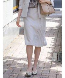 m.f.editorial/ストレッチブッチャー セットアップスカート ベージュ/503382968