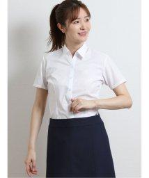 m.f.editorial/形態安定ブロード レギュラーカラースキッパー半袖シャツ/503383021