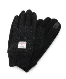BASECONTROL/Harris Tweed ハリス ツィード 手袋 グローブ/503383104
