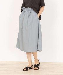 collex/【前後2WAY】ナイロンコットンミディアムギャザースカート/503383449