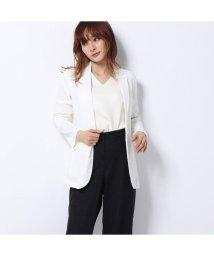 Rename/リネーム Rename 麻使用ジャケット (ホワイト)/502706122