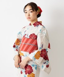 FURIFU/浴衣「縞椿」 / 夏・祭り・花火・納涼船/503250129