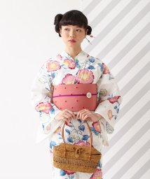 FURIFU/ 浴衣「ぼかし椿」/ 夏 花火 納涼船 夕涼み 綿/503316655