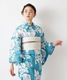 FURIFU/浴衣「透かし朝顔」/ 夏 花火 納涼船 夕涼み 綿/503316660