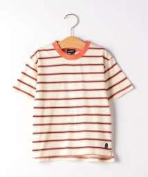 green label relaxing (Kids)/【キッズ】ボーダーリンガーTシャツ/503371571