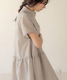 Bou Jeloud/【WEB限定】裾フレアシャツチュニック/503371752
