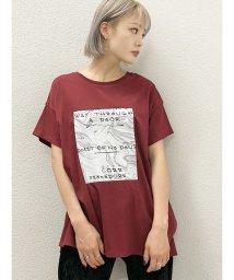 EMODA/マーブルブリントTシャツ/503376314