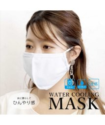 ALTROSE/濡らして使う 接触冷感 ウォータークーリング マスク/503381689